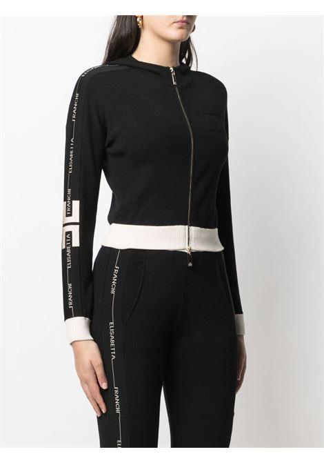 Maglia con zip ELISABETTA FRANCHI | CARDIGAN | MK01S11E2685