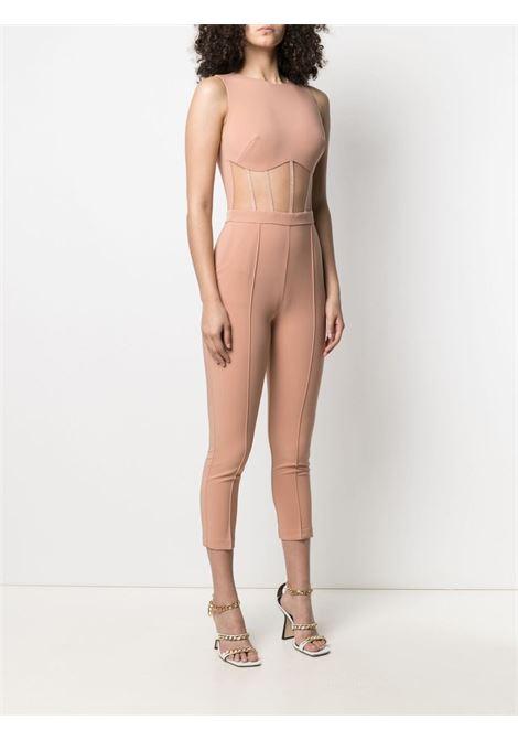 Tuta rosa/nudo ELISABETTA FRANCHI | TUTE | TU25511E2614