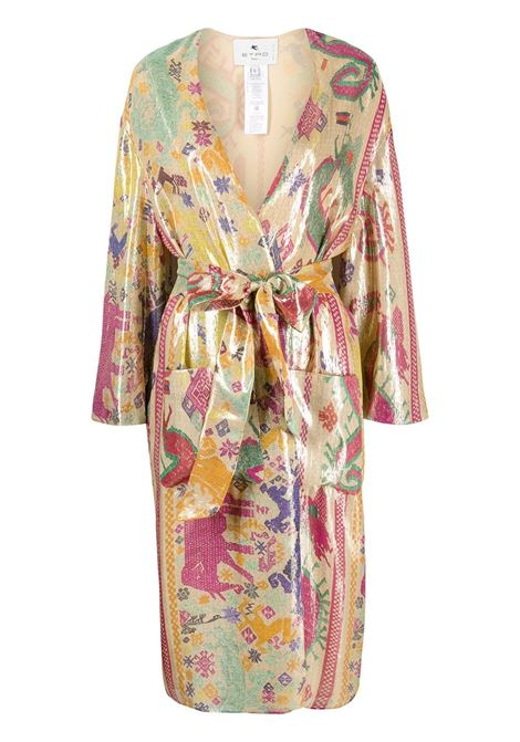 Multicolour coat ETRO |  | 1395342818000