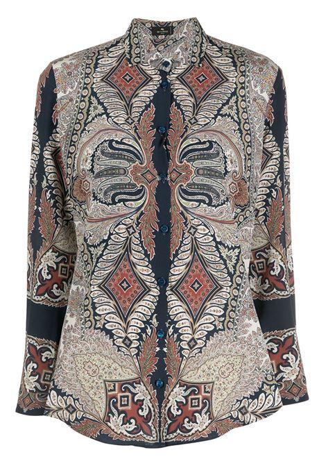 Camicia con stampa paisley ETRO | CAMICIE | 143004252200