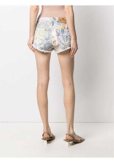 Shorts blu ETRO | SHORTS | 1445294608000