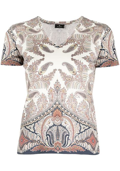 T-shirt neutra ETRO | T-SHIRT | 145154369201