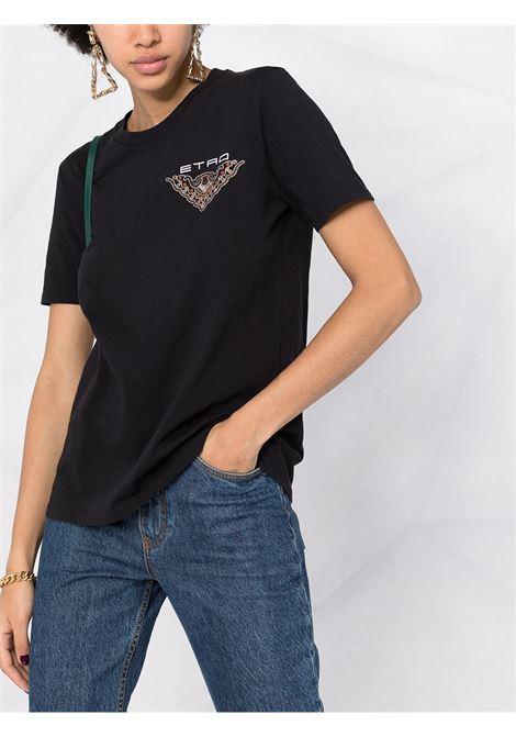 T-shirt blu ETRO | T-SHIRT | 1451679561