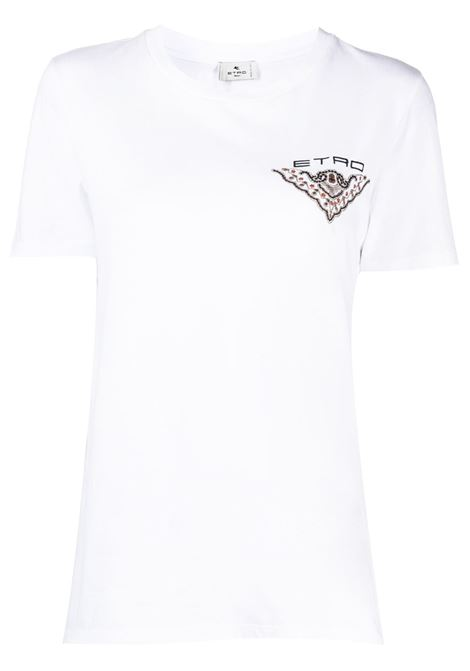 T-shirt bianca ETRO | T-SHIRT | 145167956990