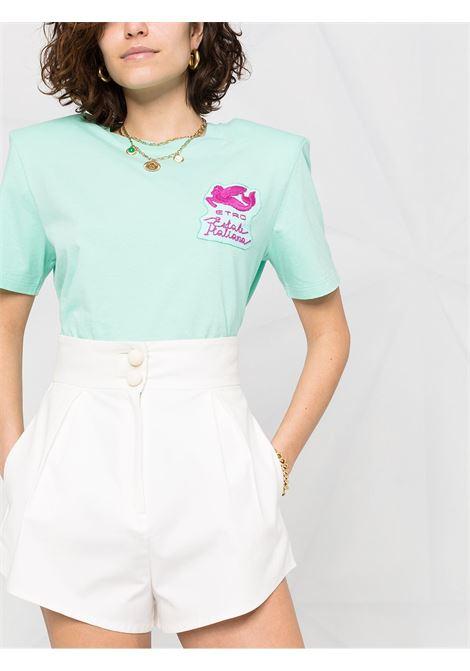 T-shirt verde ETRO   T-SHIRT   145347217250