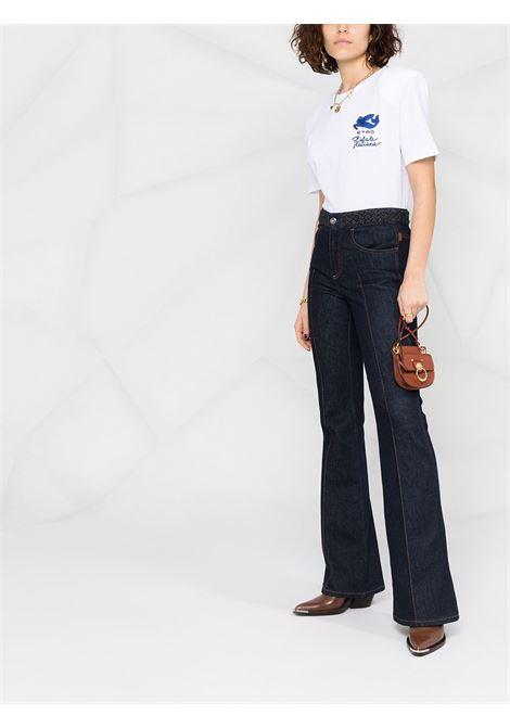 T-shirt bianca ETRO   T-SHIRT   145347217990