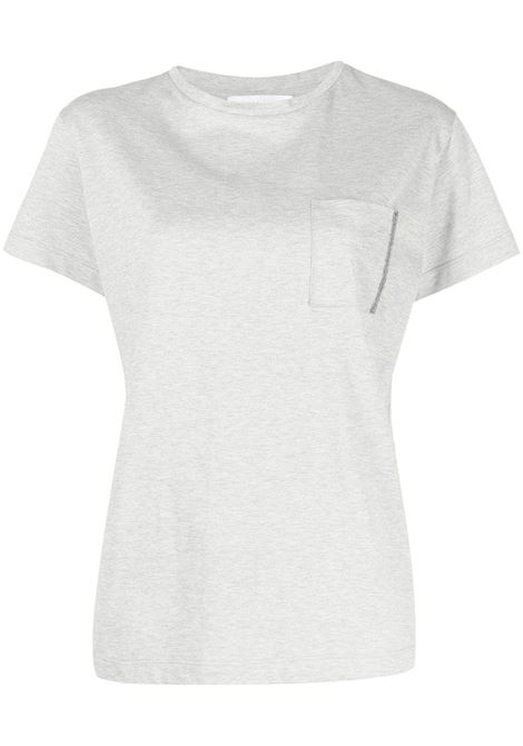 T-shirt grigia FABIANA FILIPPI   T-SHIRT   JED271W103D2568155