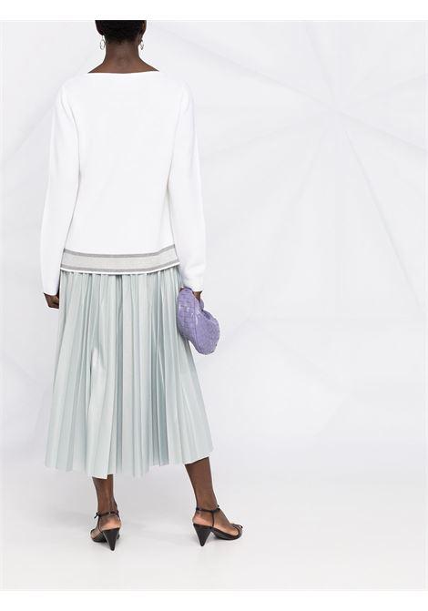 Maglione bianco FABIANA FILIPPI | MAGLIE | MAD271W003F180VR1