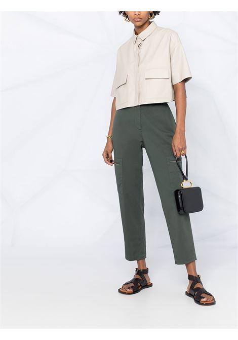 Green trousers FABIANA FILIPPI | TROUSERS | PAD271W351F2866133