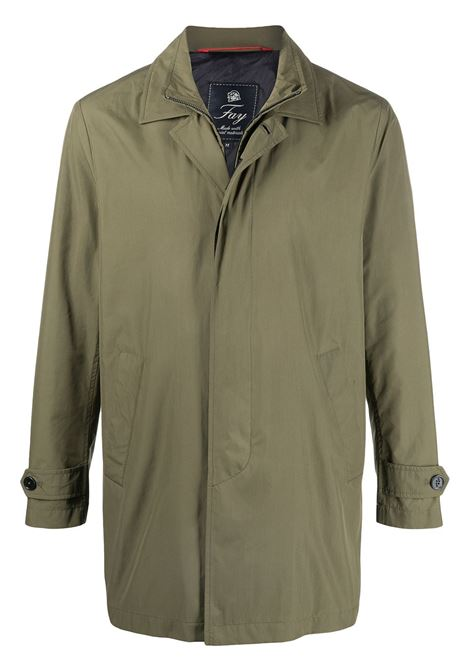 Green coat FAY | COAT | NAM61420030TFAV605