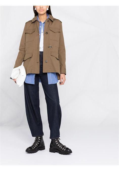 Brown coat FAY | SAHARAN | NAW1942326SMVRV601