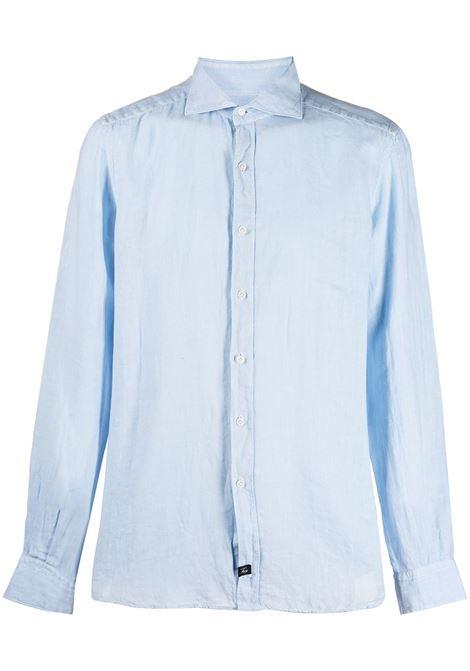 Camicia blu FAY | CAMICIE | NCMA142259THTKU003