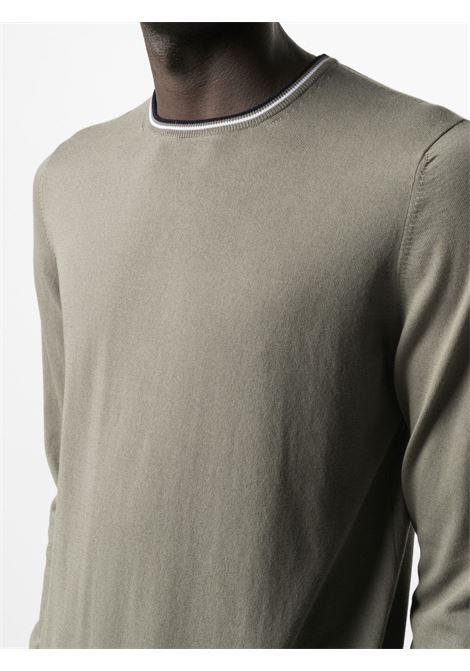 Maglione verde FAY | MAGLIONE | NMMC1422330TED0YZ0