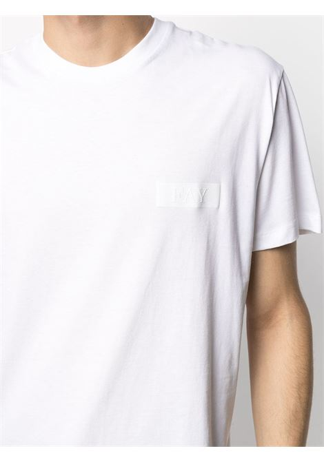 White t-shirt  FAY |  | NPMB3421300SHOB001