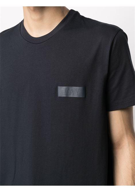 T-shirt blue FAY |  | NPMB3421300SHOU807