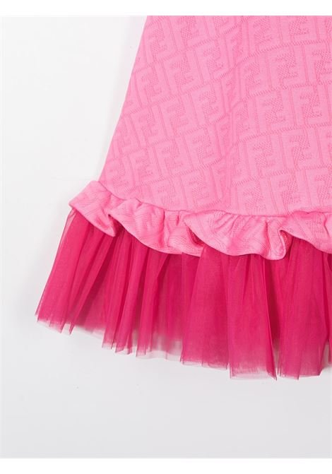 Pink dress FENDI KIDS | DRESS | JFB379A7LNF18B2