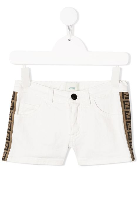 Shorts bianco FENDI KIDS | SHORTS | JFF224AEXOF0ZNM