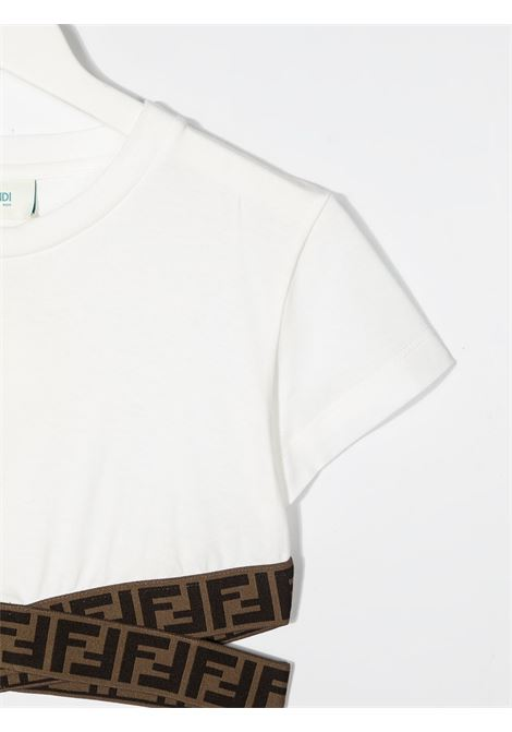 Top bianca FENDI KIDS | TOP | JFI2277AJF0TU9