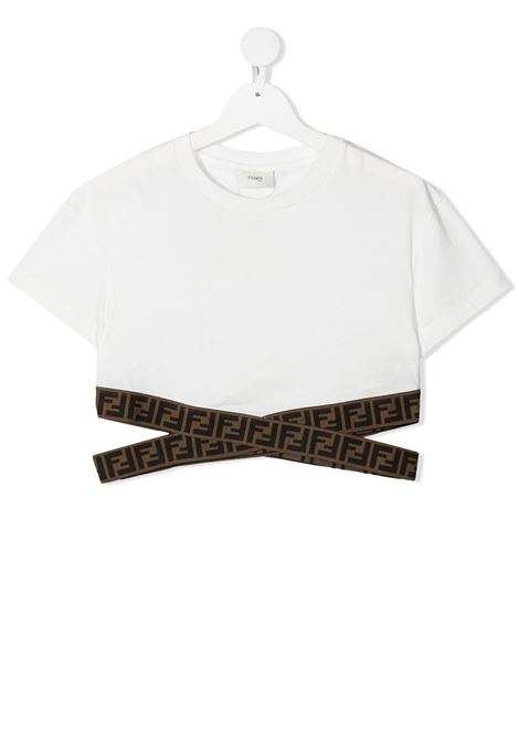Top bianca FENDI KIDS | TOP | JFI227T7AJF0TU9