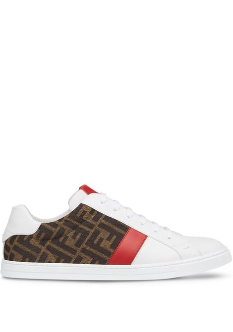 Sneakers bianca FENDI | SNEAKERS | 7E1408AF5TF1DW3