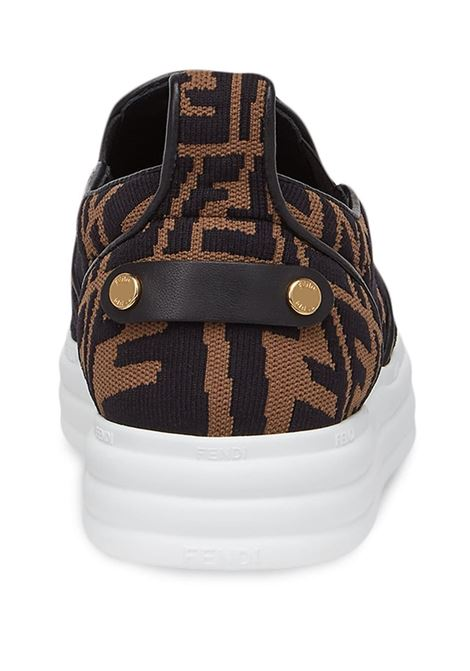 Sneakers marrone FENDI | 8E8138AE7VF0R7V