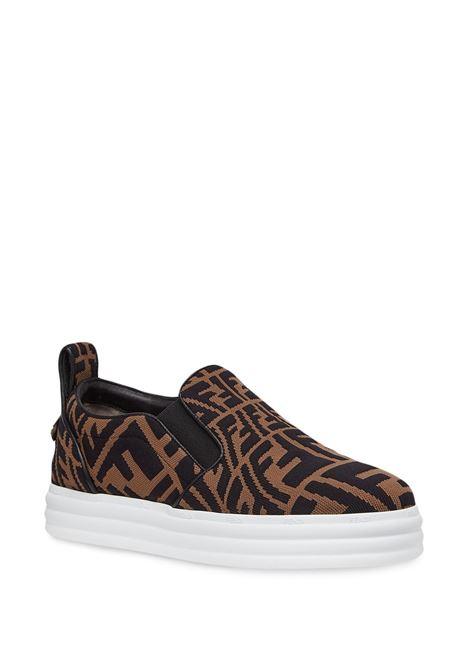 Sneakers marrone FENDI | SNEAKERS | 8E8138AE7VF0R7V