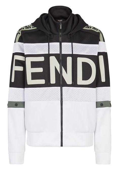White/black sweatshirt FENDI |  | FAF583A524F0RWK
