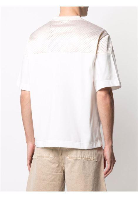 T-shirt bianco/beige FENDI | T-SHIRT | FAF631A52GF1DS5