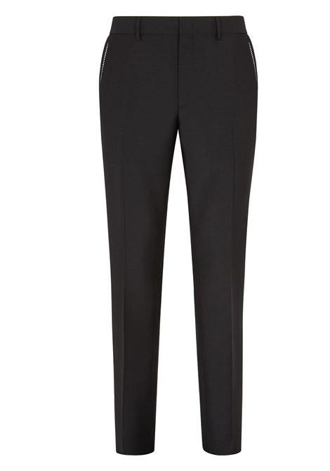 Black trousers FENDI | FB0366AFEYF0QA1