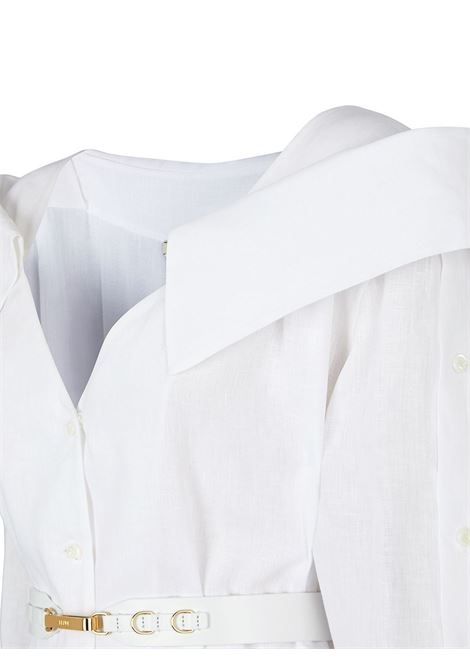 White dress FENDI | DRESS | FDB612AF7LF0ZNM