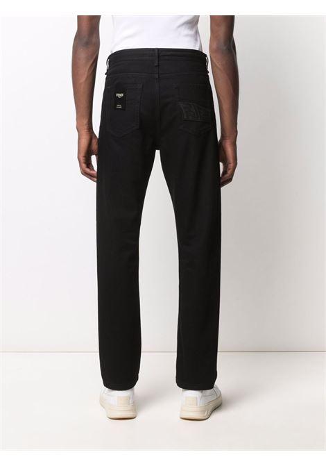 Black jeans FENDI | FLP279AG91F0QA1