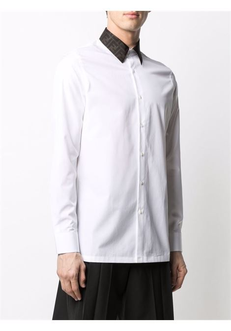 White shirt FENDI | FS0751AF03F0QA0