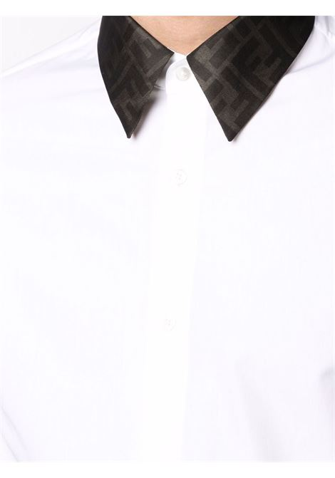 White shirt FENDI | SHIRTS | FS0751AF03F0QA0