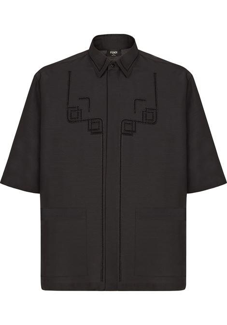 Black shirt FENDI |  | FS0956A4FQF0QA1