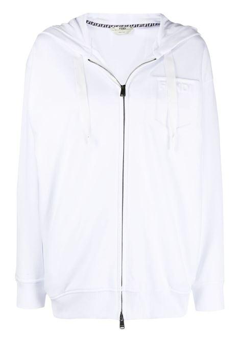 White sweatshirt FENDI | SWEATSHIRTS | FS7031AFLBF0ZNM