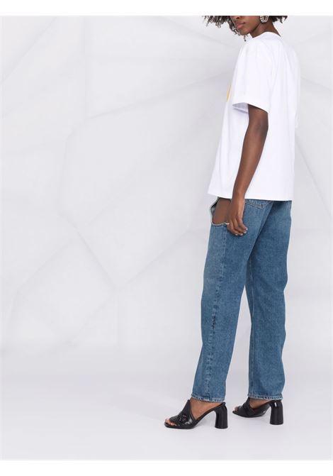 White t-shirt FENDI | T-SHIRT | FS7375AG80F0ZNM