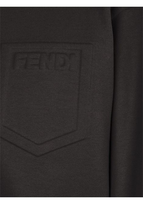 Black sweatshirt FENDI |  | FS7427AFLBF0GME