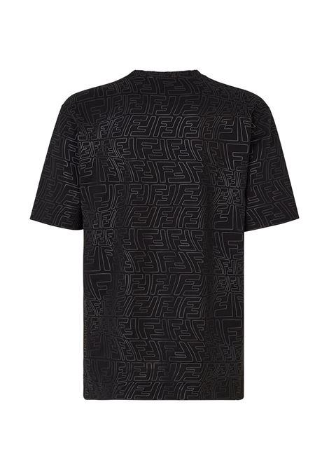 Black t-shirt FENDI | FY0936AGABF0QA1