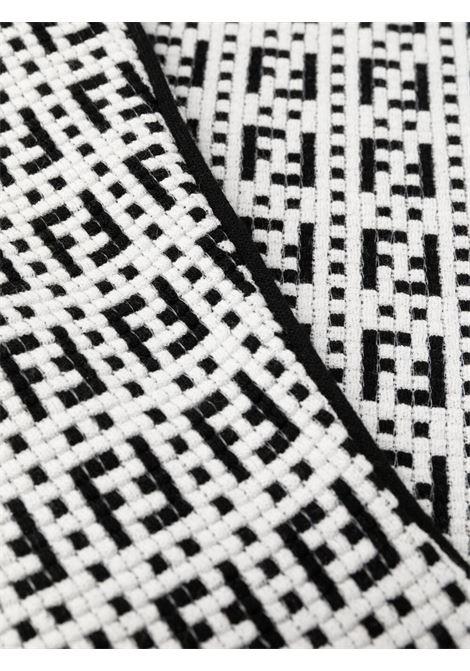 White/black dress FENDI | DRESS | FZD889AF4UF0ZNM