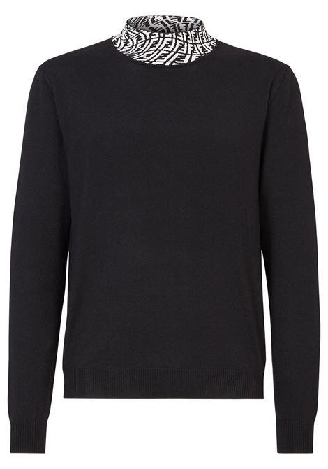 Black jumper FENDI | FZZ411AFZCF0QA1