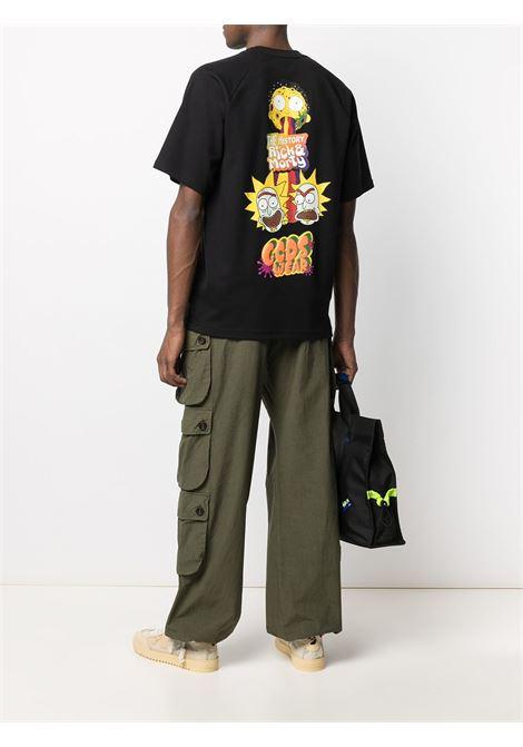 T-shirt nera GCDS | T-SHIRT | RM21M02006402