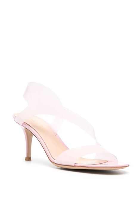Sandalo punta aperta pvc GIANVITO ROSSI | SANDALI | G3184370RICGSVGLGZ