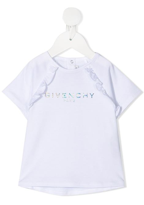 White t-shirt GIVENCHY KIDS | T-SHIRT | H0516810B