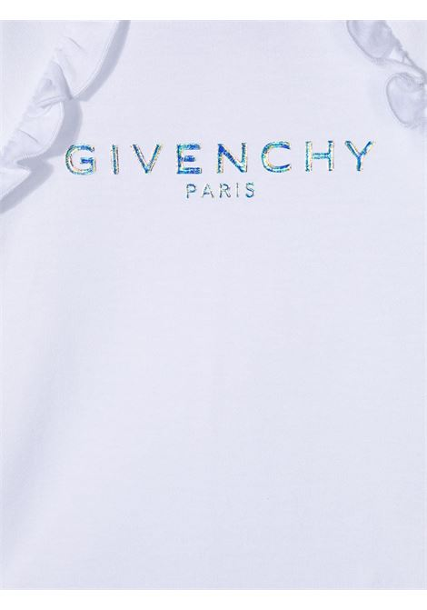T-shirt bianca GIVENCHY KIDS | T-SHIRT | H0516810B
