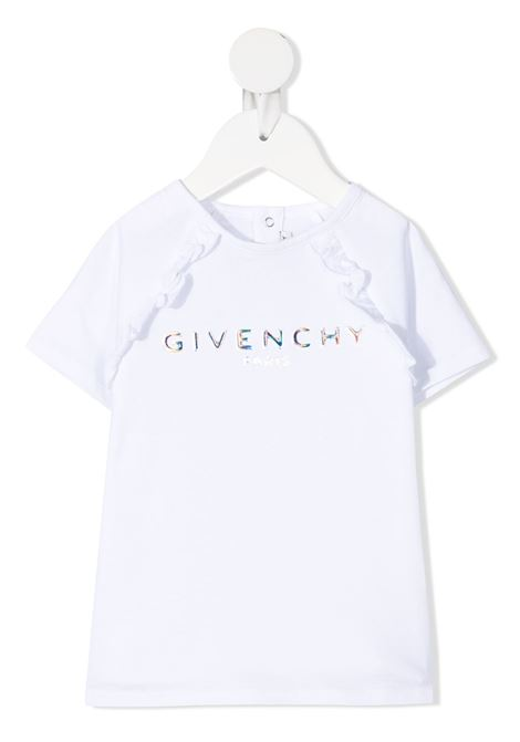 T-shirt bianca GIVENCHY KIDS | T-SHIRT | H05168B10B
