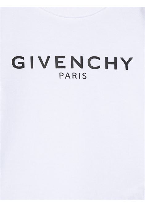 T-shirt bianca GIVENCHY KIDS | T-SHIRT | H05M1610B