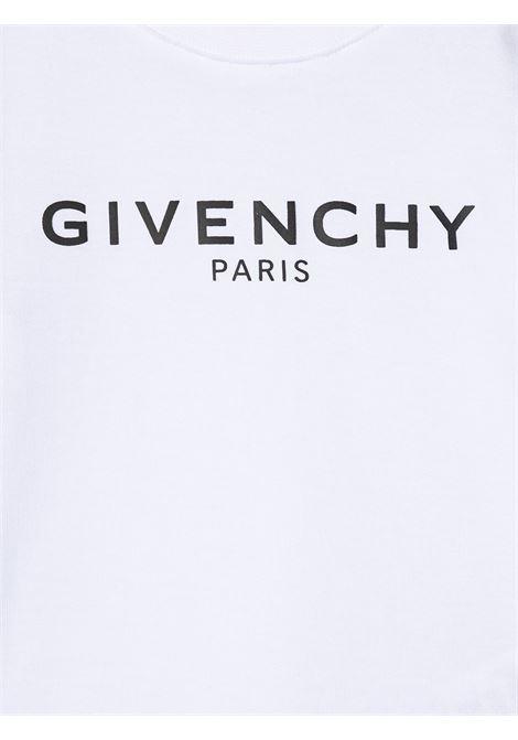 T-shirt bianca GIVENCHY KIDS   T-SHIRT   H05M1610B