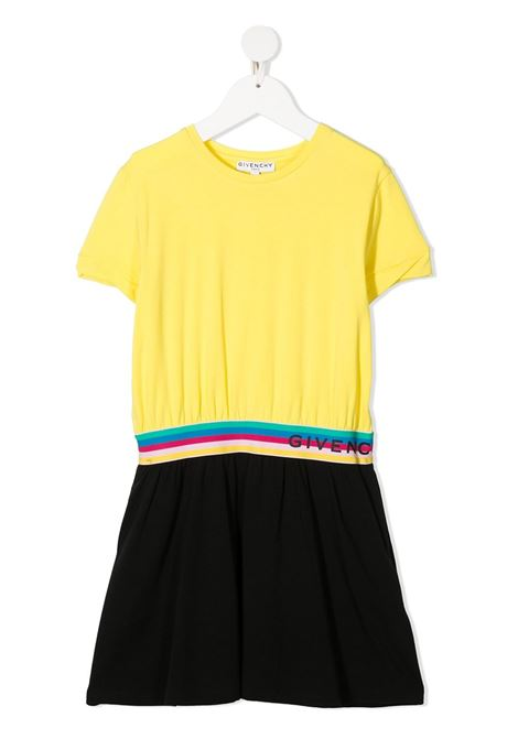 Yellow/black dress GIVENCHY KIDS | DRESS | H12149T90