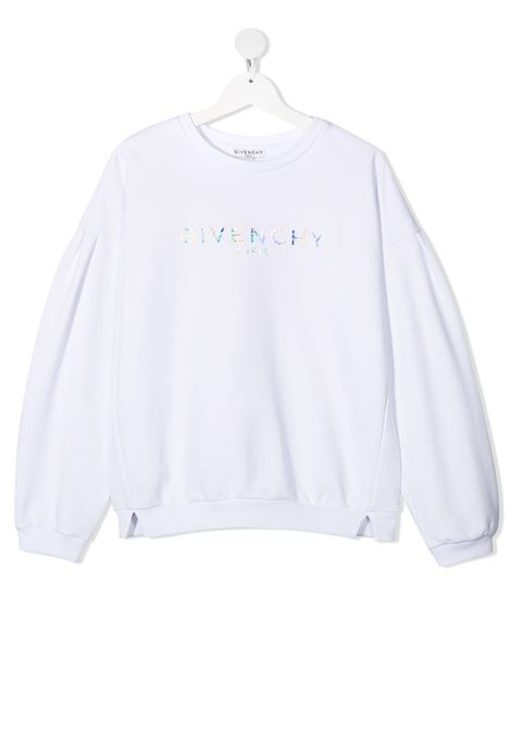 White sweatshirt GIVENCHY KIDS | SWEATSHIRTS | H15193T10B