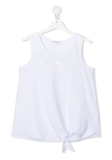 White top GIVENCHY KIDS | TANK TOPS | H15198T10B